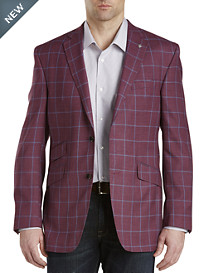 Ted Baker® Endurance Windowpane Wool Sport Coat