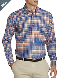 Brooks Brothers® Non-Iron Heather Multi Plaid Oxford Sport Shirt