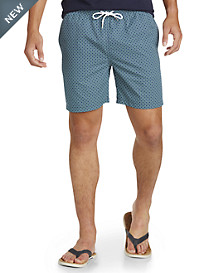 Brooks Brothers® Lifesaver Printed Montauk Swim Trunks