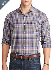 Polo Ralph Lauren® Plaid Poplin Sport Shirt