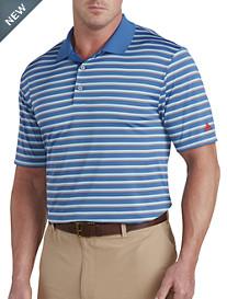 adidas® Golf Club Merch Stripe Polo