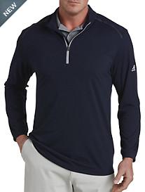 adidas® Lightweight Quarter-Zip Pullover