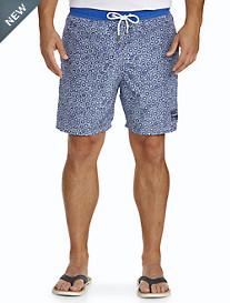 Paul & Shark® Circle Print Swim Trunks