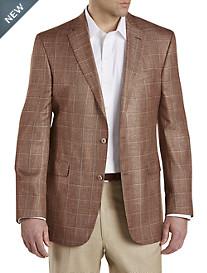 Jack Victor® Windowpane Sport Coat – Executive Cut