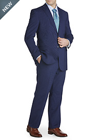 Jack Victor® Reflex Stretch Check Nested Suit – Executive Cut