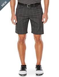 Callaway® Plaid Flat-Front Shorts