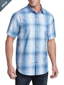 Twenty-Eight Degrees Large Plaid Sport Shirt