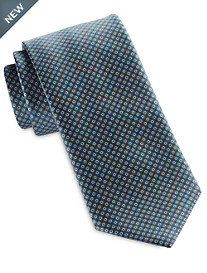 Brioni Small Dot Silk Tie