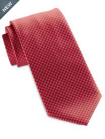 Brioni Small Dot Silk Tie