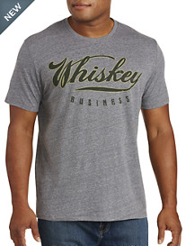 Lucky Brand® Whiskey Business Graphic Tee