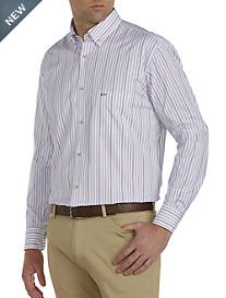 Paul & Shark® Multi Stripe Sport Shirt