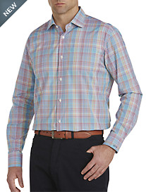 Paul & Shark® Multi Plaid Sport Shirt