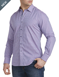 Robert Graham® Neel Geometric-Print Sport Shirt