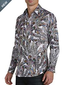 Robert Graham® Goa Feather-Print Sport Shirt