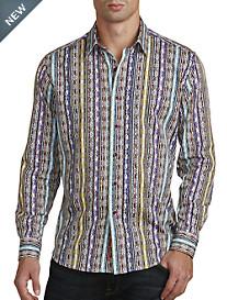 Robert Graham® Tripura Multi Stripe Sport Shirt