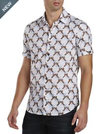 Robert Graham® Pappu Geometric-Print Sport Shirt