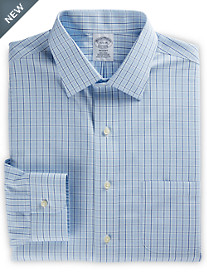 Brooks Brothers® Non-Iron Framed Check Dress Shirt