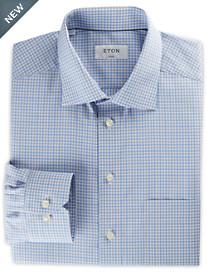 Eton® Small Plaid Dress Shirt