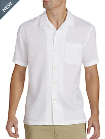 Tommy Bahama® Monaco Tides Linen-Blend Camp Shirt