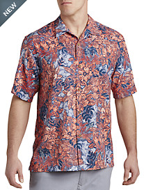 Tommy Bahama® Greek Batik IslandZONE® Camp Shirt