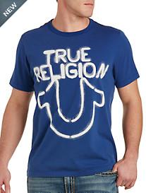 True Religion® Stencil Logo Tee
