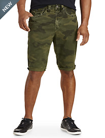 True Religion® Camo Shorts