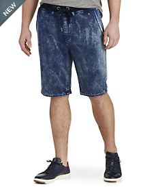 True Religion® Decayed Tie-Dye Terry Sweatshorts