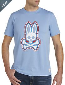 Psycho Bunny® Skull Bunny Graphic Tee