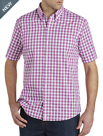 Cutter & Buck™ Wrinkle-Free Los Rios Check Poplin Sport Shirt