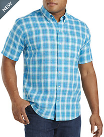 Cutter & Buck® Agua Plaid Sport Shirt
