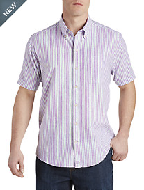 Cutter & Buck® River Front Stripe Sport Shirt