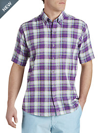 Cutter & Buck® Beaulieu Plaid Sport Shirt