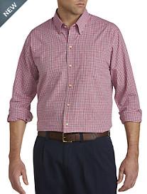 Cutter & Buck™ Wrinkle-Free Cimarron Check Poplin Sport Shirt
