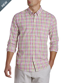 Cutter & Buck® Wrinkle-Free Laurel Grove Check Sport Shirt