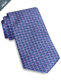 Robert Talbott Best of Class Abstract Artsy Neat Silk Tie