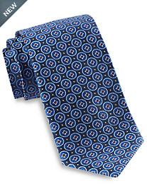 Robert Talbott Medium Circle Medallion Silk Tie