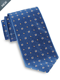 Robert Talbott Abstract Square Neat Silk Tie