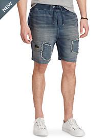 Polo Ralph Lauren® Indigo Fleece Patch Shorts
