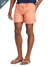 Polo Ralph Lauren® Traveler Gingham Swim Shorts