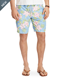 Polo Ralph Lauren® Floral Traveler Long Swim Trunks
