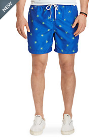 Polo Ralph Lauren® Floral Traveler Swim Trunks