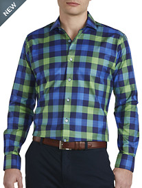Robert Talbott® Bold Plaid Sport Shirt
