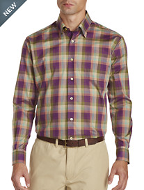 Robert Talbott® Plaid Sport Shirt