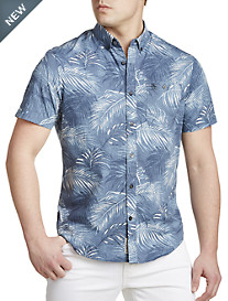 Original Penguin® Leaf-Print Sport Shirt