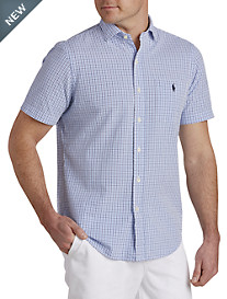 Polo Ralph Lauren® Plaid Seersucker Sport Shirt