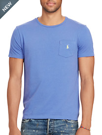 Polo Ralph Lauren® Cotton Jersey Pocket T-Shirt