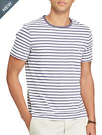 Polo Ralph Lauren® Stripe Pocket T-Shirt