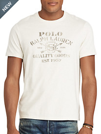 Polo Ralph Lauren® Cotton Jersey Graphic T-Shirt