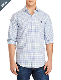 Polo Ralph Lauren® Check Stretch Poplin Sport Shirt