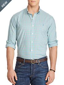 Polo Ralph Lauren® Plaid Stretch Poplin Sport Shirt